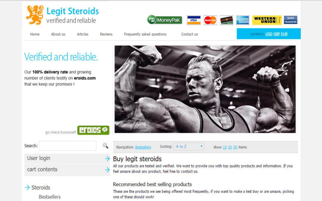 Legit Steroids